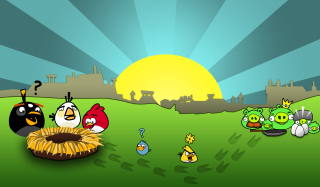 Angry Birds Game Picture for Android, iPhone and iPad