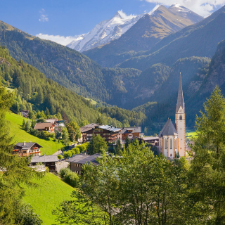 Heiligenblut am Grossglockner in Austria - Obrázkek zdarma pro iPad 2