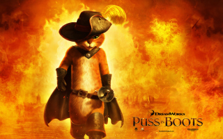 Puss In Boots Wallpaper for Android, iPhone and iPad