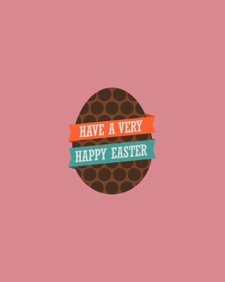 Very Happy Easter Egg - Obrázkek zdarma pro Nokia Lumia 505