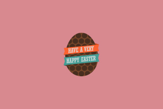 Very Happy Easter Egg Picture for Android, iPhone and iPad