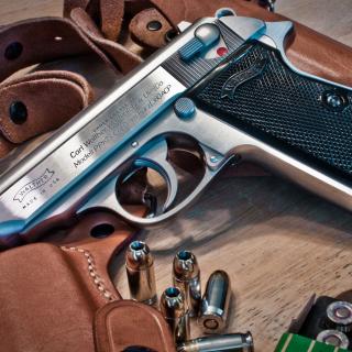 Walther Pistol 9mm - Obrázkek zdarma pro 128x128
