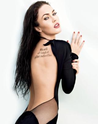 Megan Fox Tattoo - Obrázkek zdarma pro Nokia C2-00