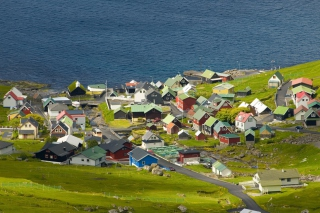 Funningsfjordur Faroe Islands Wallpaper for Android, iPhone and iPad