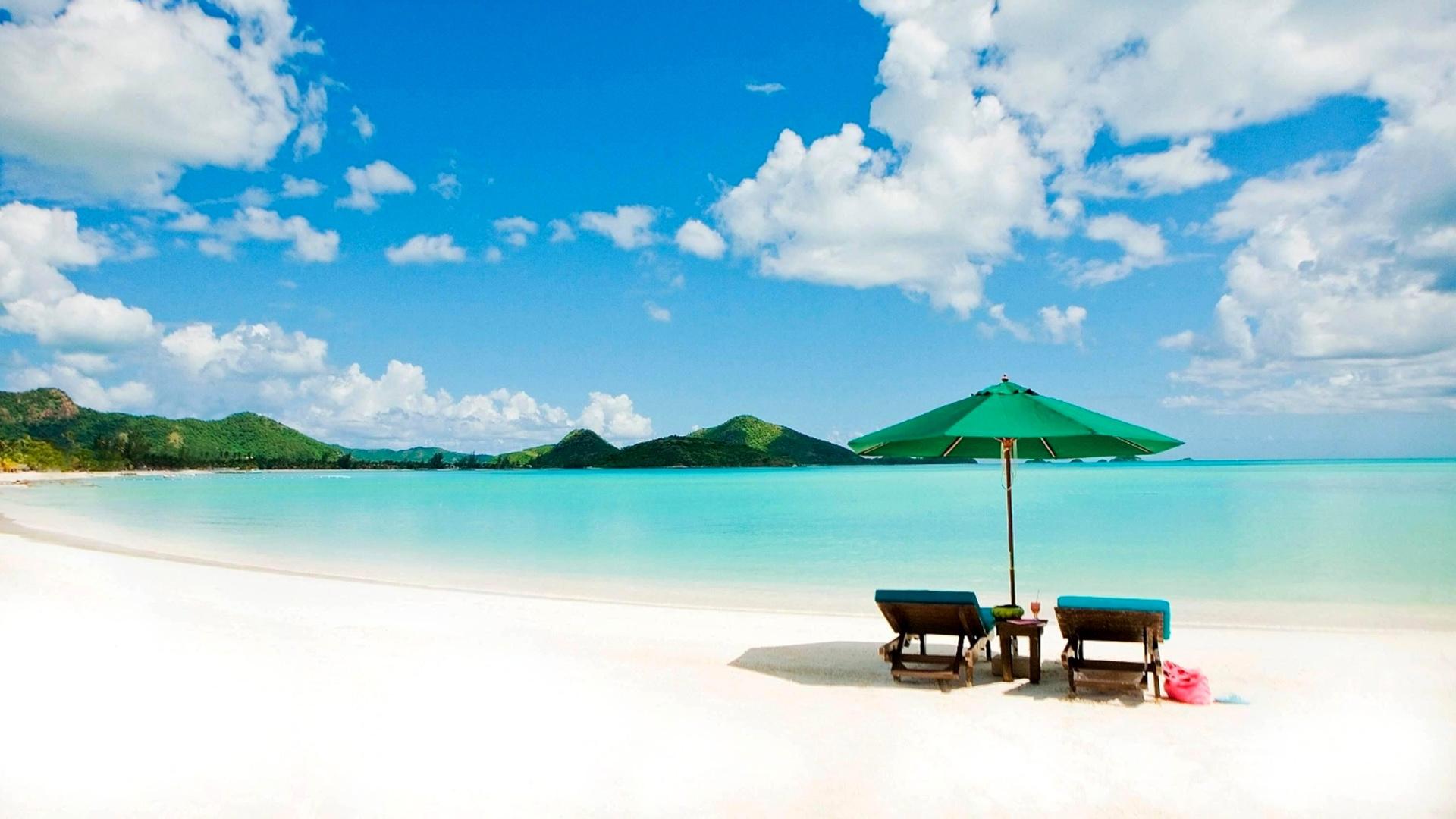 Tropical Paradise Beach Hd Wallpaper For Nexus 7 Screens: Tropical Paradise White Beach Wallpaper For Desktop