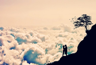 Romance In Clouds Picture for Android, iPhone and iPad