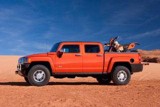 Hummer H3T Wallpaper for Android, iPhone and iPad