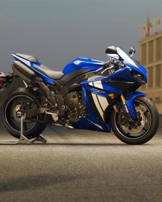 Yamaha R1 Motorcycle - Obrázkek zdarma pro Nokia Asha 308