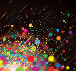 Colorful Circles Abstract - Obrázkek zdarma pro iPad mini