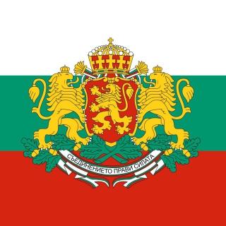Bulgaria Gerb and Flag - Obrázkek zdarma pro 320x320