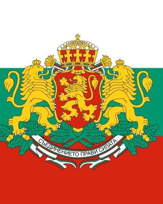 Bulgaria Gerb and Flag - Obrázkek zdarma pro Nokia Asha 306