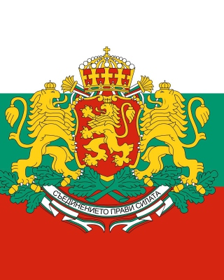 Bulgaria Gerb and Flag - Obrázkek zdarma pro Nokia Lumia 820