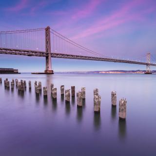 San Francisco Bay Bridge - Obrázkek zdarma pro iPad
