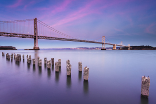 San Francisco Bay Bridge Background for Android, iPhone and iPad