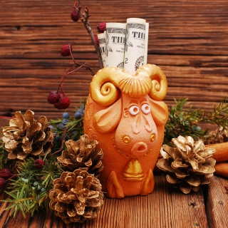 Chinese Zodiac 2015 Year of the Sheep - Obrázkek zdarma pro iPad 2