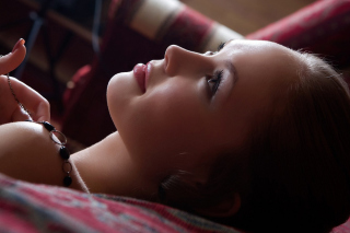 Pretty Girl Face - Obrázkek zdarma pro 480x400