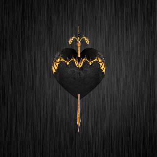 Sword In Heart - Obrázkek zdarma pro 128x128
