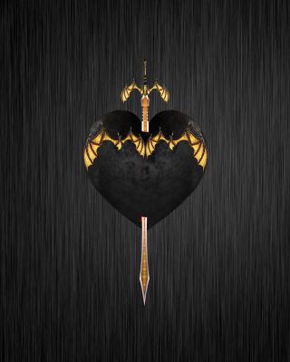 Sword In Heart - Obrázkek zdarma pro Nokia Asha 310