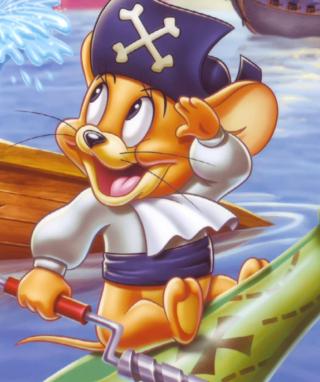 Jerry Pirate - Obrázkek zdarma pro Nokia Asha 306