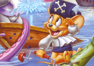 Jerry Pirate Wallpaper for Android, iPhone and iPad