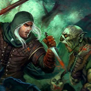 Goblins and Warrior - Obrázkek zdarma pro iPad mini