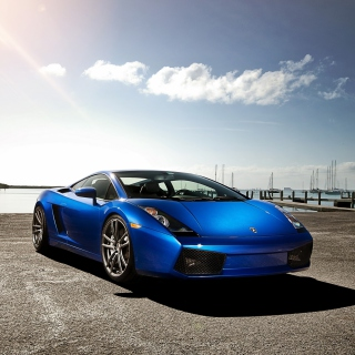 Lamborghini Gallardo Supercar - Obrázkek zdarma pro 1024x1024