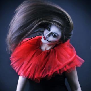 Joker Girl - Obrázkek zdarma pro iPad