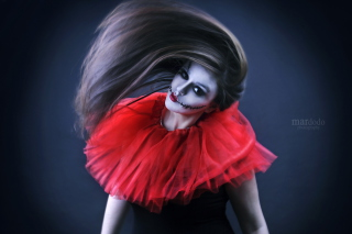 Joker Girl - Obrázkek zdarma pro Fullscreen 1152x864