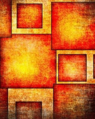 Orange squares patterns - Obrázkek zdarma pro 360x400