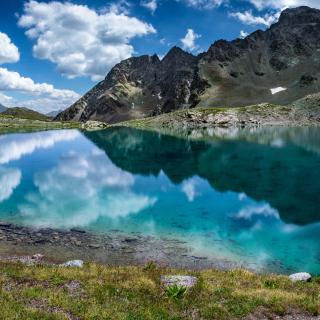 Lake Geneva in Switzerland - Obrázkek zdarma pro iPad
