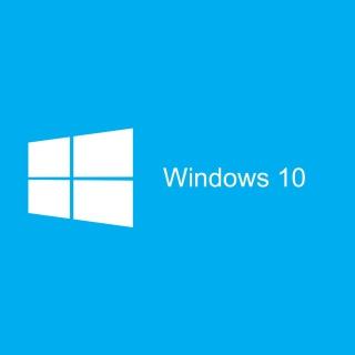 Blue Windows 10 HD - Obrázkek zdarma pro 320x320