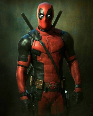 Ryan Reynolds as Deadpool - Obrázkek zdarma pro Nokia C2-05