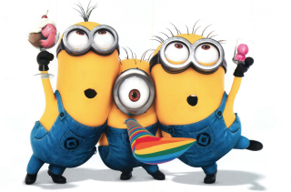 Minions - Despicable Me 2 Wallpaper for Android, iPhone and iPad