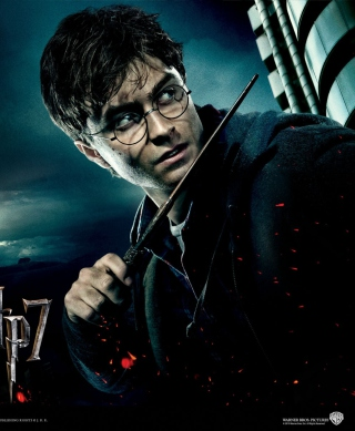 Harry Potter And Deathly Hallows - Obrázkek zdarma pro Nokia 300 Asha