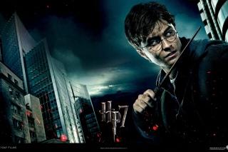 Harry Potter And Deathly Hallows - Obrázkek zdarma pro Samsung Galaxy Tab 4 8.0