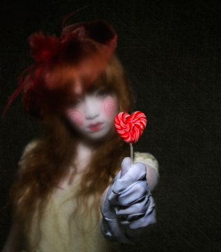 Heart Candy - Obrázkek zdarma pro 768x1280