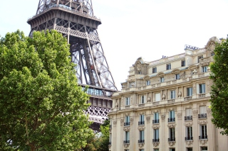 Free Paris, France, La Tour Eiffel Picture for Android, iPhone and iPad