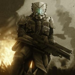 Warrior in Armor - Obrázkek zdarma pro iPad mini 2