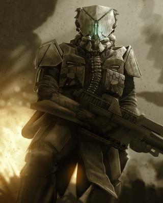 Warrior in Armor - Obrázkek zdarma pro Nokia C2-06