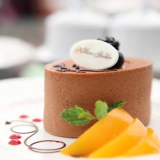 Chocolate Cake Decoration Design - Obrázkek zdarma pro 1024x1024