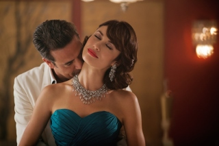 Olga Kurylenko as Vera Evans in Magic City Wallpaper for Android, iPhone and iPad