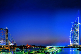 Dubai Beach Background for Android, iPhone and iPad