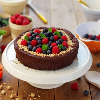 Berries Cake - Obrázkek zdarma pro iPad 3
