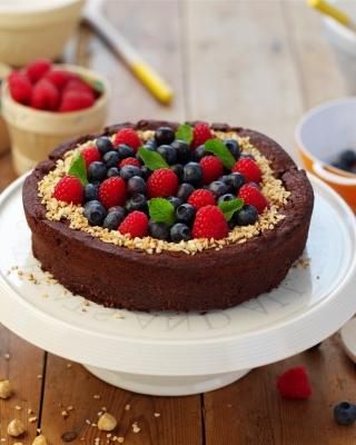 Berries Cake - Obrázkek zdarma pro 132x176