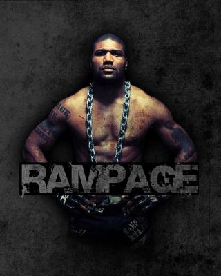 Quinton Jackson Rampage MMA fighting - Obrázkek zdarma pro Nokia X1-01