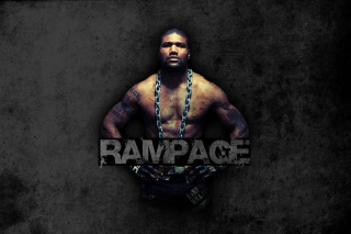 Quinton Jackson Rampage MMA fighting - Obrázkek zdarma pro Android 600x1024