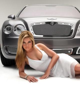 Posh Bentley Model - Obrázkek zdarma pro iPhone 3G