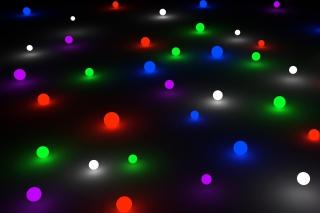 Glow Marbles - Obrázkek zdarma pro Nokia Asha 210
