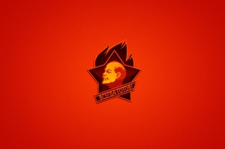Lenin in USSR Background for Android, iPhone and iPad