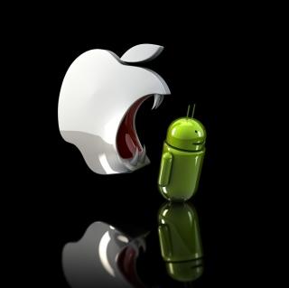 Apple Against Android - Obrázkek zdarma pro 320x320